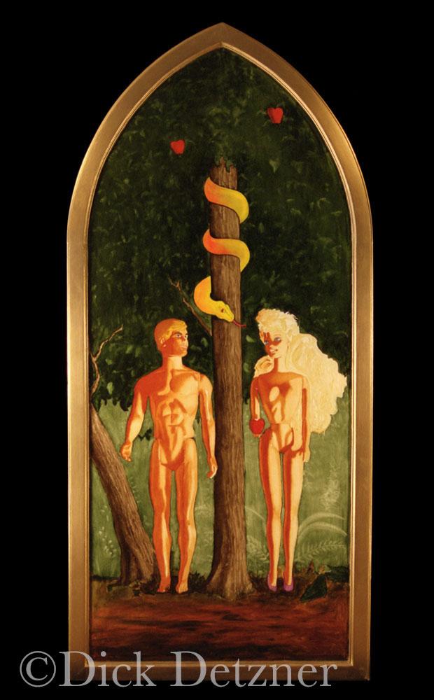 Barbia and Ken in the Garden of Eden
